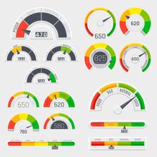 Credit Score Indicators With C...