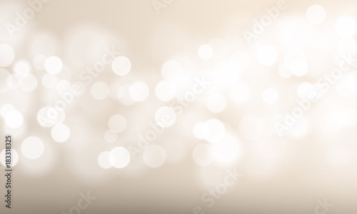 Fotografiet  Abstract light blur and bokeh effect background