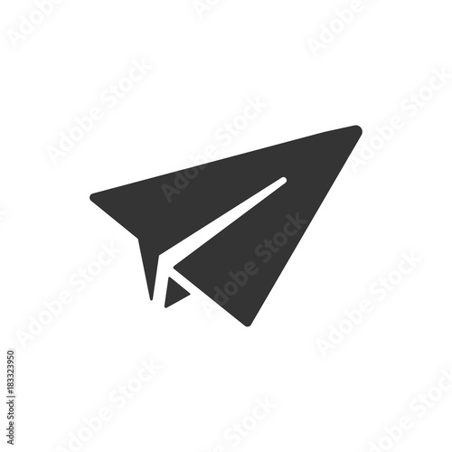 Fotomural Paper Rocket Icon