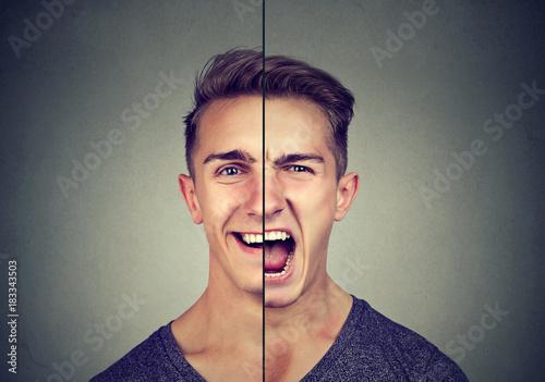 Photo  Bipolar disorder concept