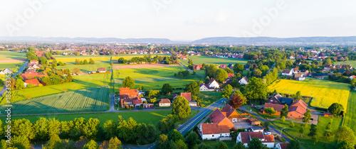 Landschaft in Deutschland Fototapet