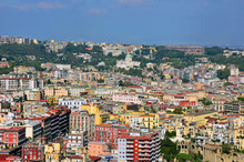 Napoli, Panorama Zona Tangenzi...