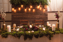 Beautiful Rustic Decor Of Wedd...