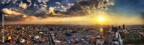 Photo  Mexico City Aerial
