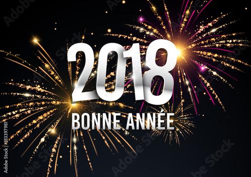 2018 bonne année Poster