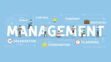 Management Concept Illustration.