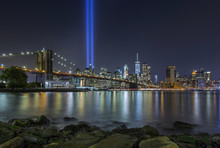 9/11 Tribute In Lights At Broo...