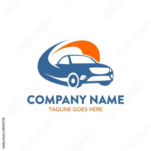 Car Rental Logo Template Unique Vector Editable Buy This Stock