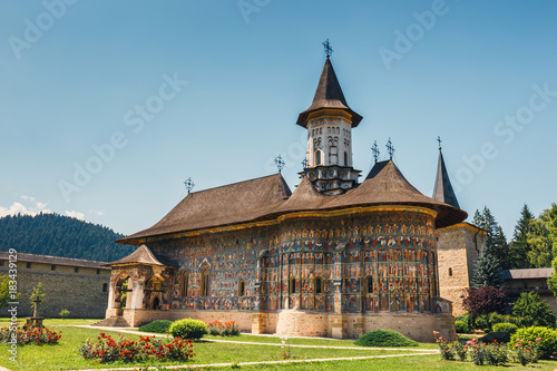 Fotografija The Sucevita Monastery is a Romanian Orthodox monastery situated in the commune