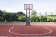 basketball court outdoor, 3d illustration