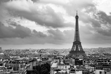 Panel Szklany Miasta Tour Eiffel de jour