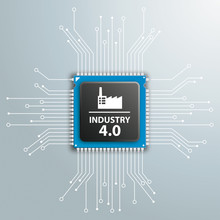 Industry 4.0 Futuristic Proces...