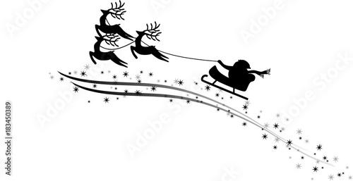 Kostenlose Bastelvorlagen Rentier Weihnachtsmann