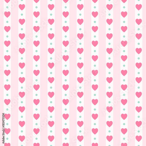 sliczny-prymitywny-retro-bezszwowy-wzor-z-malymi-sercami-na-pasiastym-tle