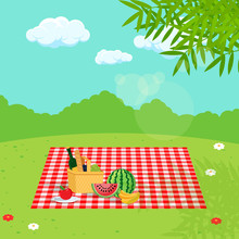 Picnic In Nature.