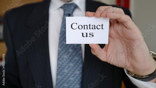 Contact Us Carte De Visite