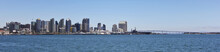 A San Diego Panorama On A Sunny Day