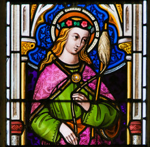 Stained Glass - Saint Genevieve