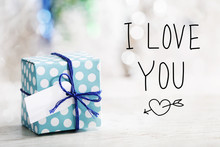 I Love You Message With Small ...
