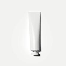 White Cosmetic Tube. 3d Render...