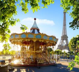 FototapetaCarousel in France