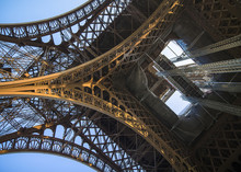 Detail Bottom View Of  Eiffel ...