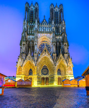 Notre Dame Of Reims Cathedral,...