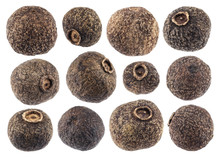 Allspice Isolated On White Bac...