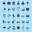 Universal Business And Finance Icons