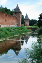 Smolensk Fortress Wall Next To...