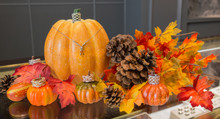 Autumn Set Up For Jewelry Store