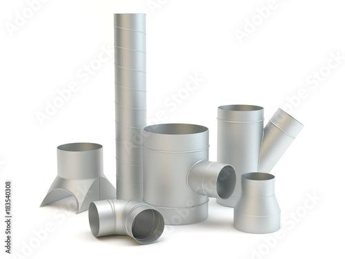 Ventilation system items Canvas-taulu
