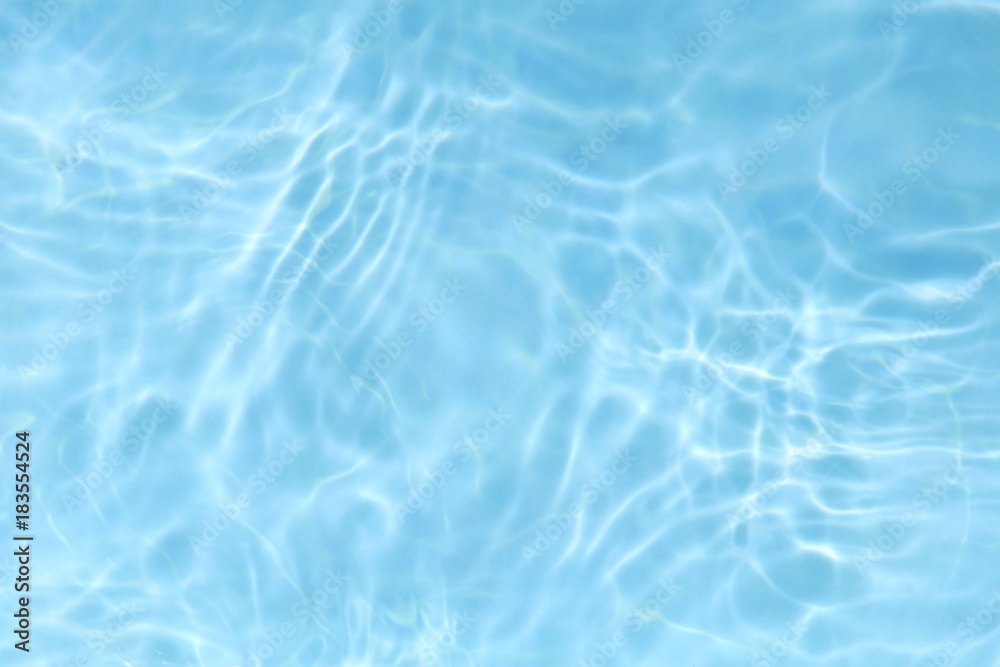 Fototapeta blue rippled water texture background