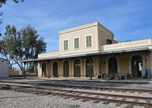 Old Fashioned Railway Station