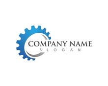 Gear Logo Template Vector Icon...