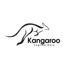 Fast Jump Kangaroo Logo