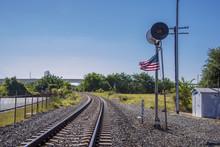 Houston Texas US Railroad