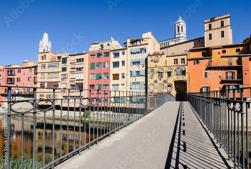 The Gomez Bridge of Gerona, Spain