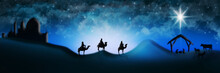 Christmas Nativity Scene Of Th...