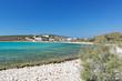Alyki beach in Paros, Greece