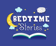 Bedtime Stories Book Illustration