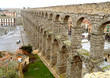 The Aqueduct of Segovia, UNESCO World Heritage Site in Segovia, Spain