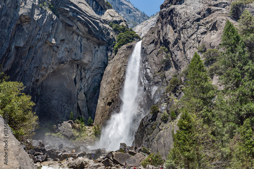 Fotobehang Natuur Park Yosemite Fall in Yosemite Valley, National Park
