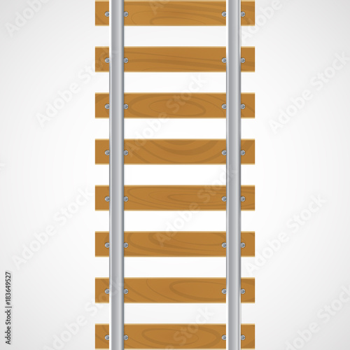 vector rails on a wooden buy this stock vector and explore