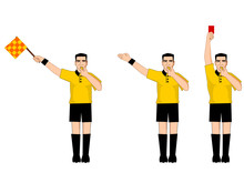 Collection Of Football Referee...
