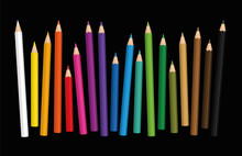 Crayons - Loosely Arranged Col...