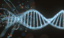 Colorful DNA Molecule. Concept...