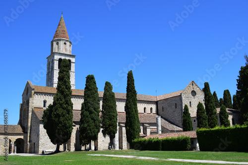 Aquileia Basilica di Santa Maria Assunta Friuli Venezia Giulia Italia Gorizia Ba Canvas Print