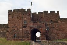 Carlisle Castle Entrance.