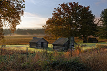 Misty Morning At Valley Forge ...